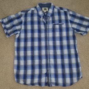 Men's dakota grizzly flannel t shirt